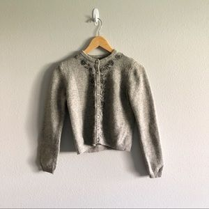 American Eagle Outfitters button up sweater